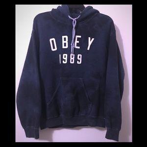 Tie dye Obey hoodie
